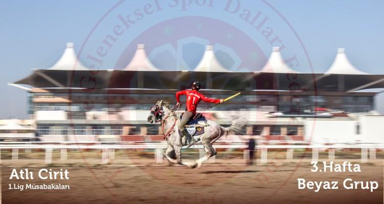 Atlı Cirit 1.ligi müsabakalarının üçüncü haftasında galip Uşak Bireylül