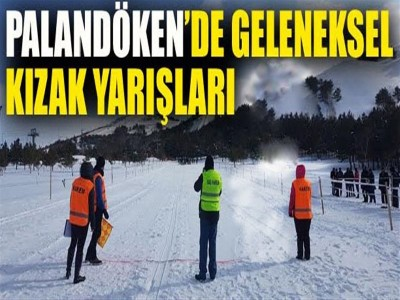 Palandöken'de Geleneksel Kızak Yarışları