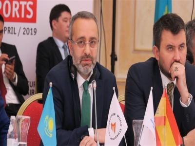 Başkanımız Sn. Dr. Hakan Kazancı'dan Dünya Göçebe Oyunları açıklaması